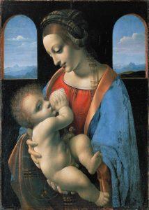 virgin mary breastfeeding chestfeeding nursing