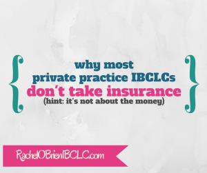 IBCLC health insurance